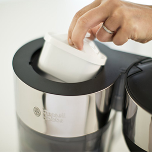 Waterfilter Russell Hobbs Clarity Thermos filterkoffiemachine